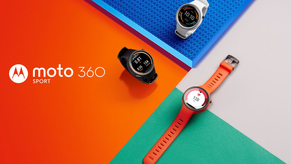 Moto 360 Sport will be available December 18 in the UK and France, US in January 2016