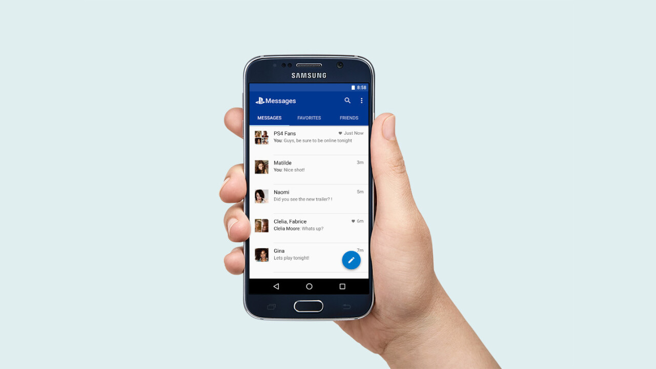 PlayStation Messages lets you ping your PSN buddies on iOS and Android