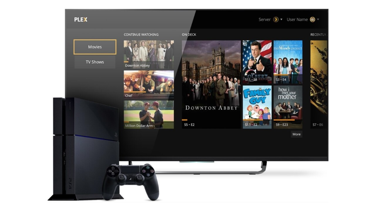 Plex's media streaming app is now free for Xbox and PlayStation consoles