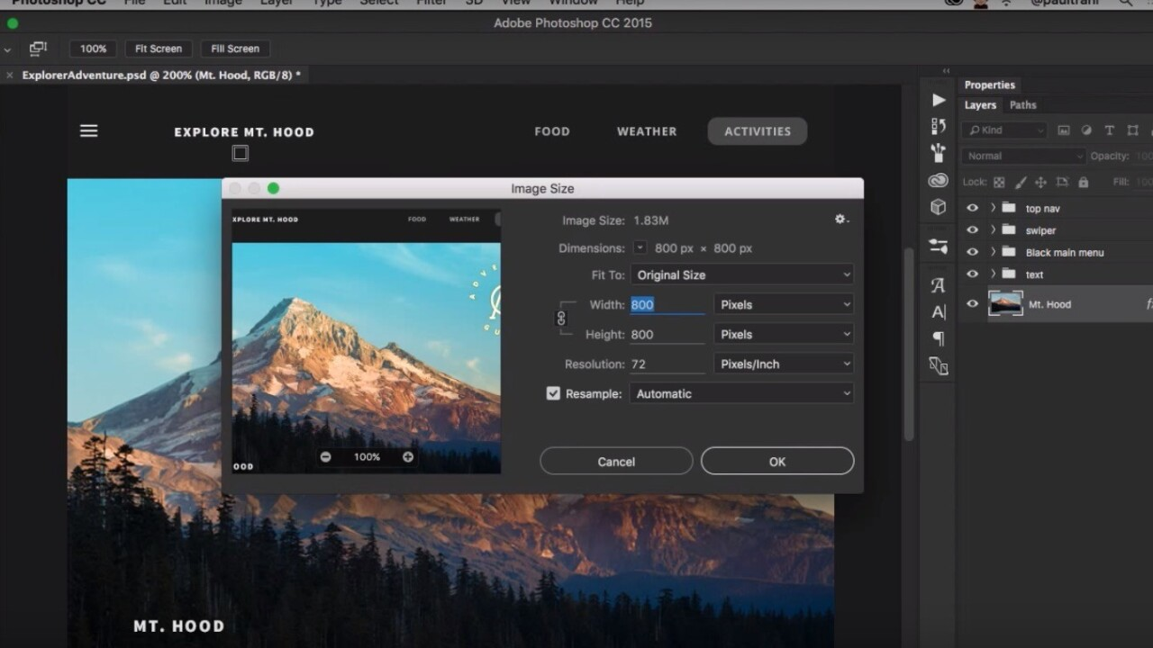 Photoshop update lets you customize your entire workspace