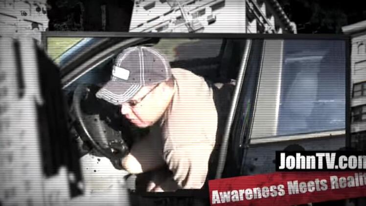 Pensioner filmed having sex in a car by vigilante drone pleads not guilty