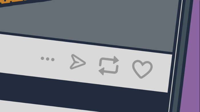 Tumblr now lets you send posts as messages, and supports Live Photos on iOS