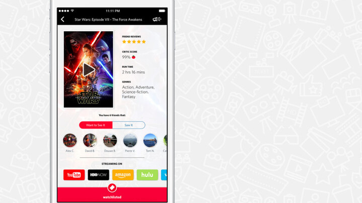 Chill even more with Reelgood's film recommendation app