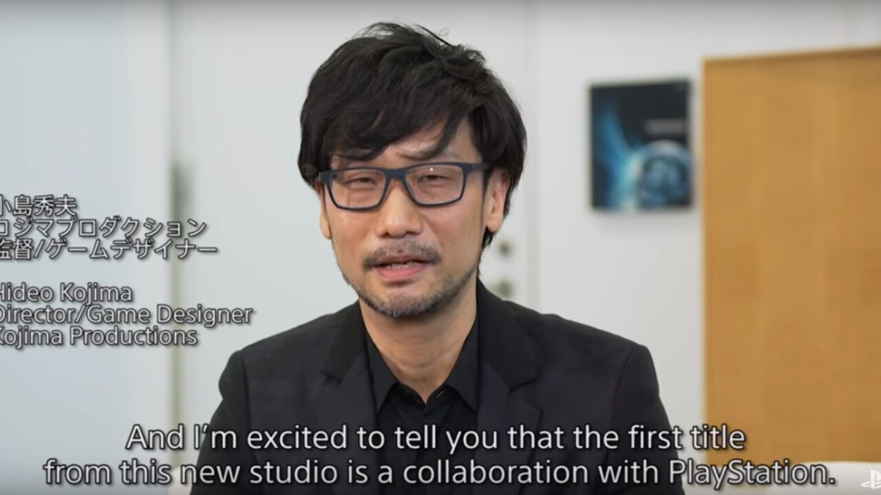 'Metal Gear Solid' creator announces new PS4 game after finally leaving Konami