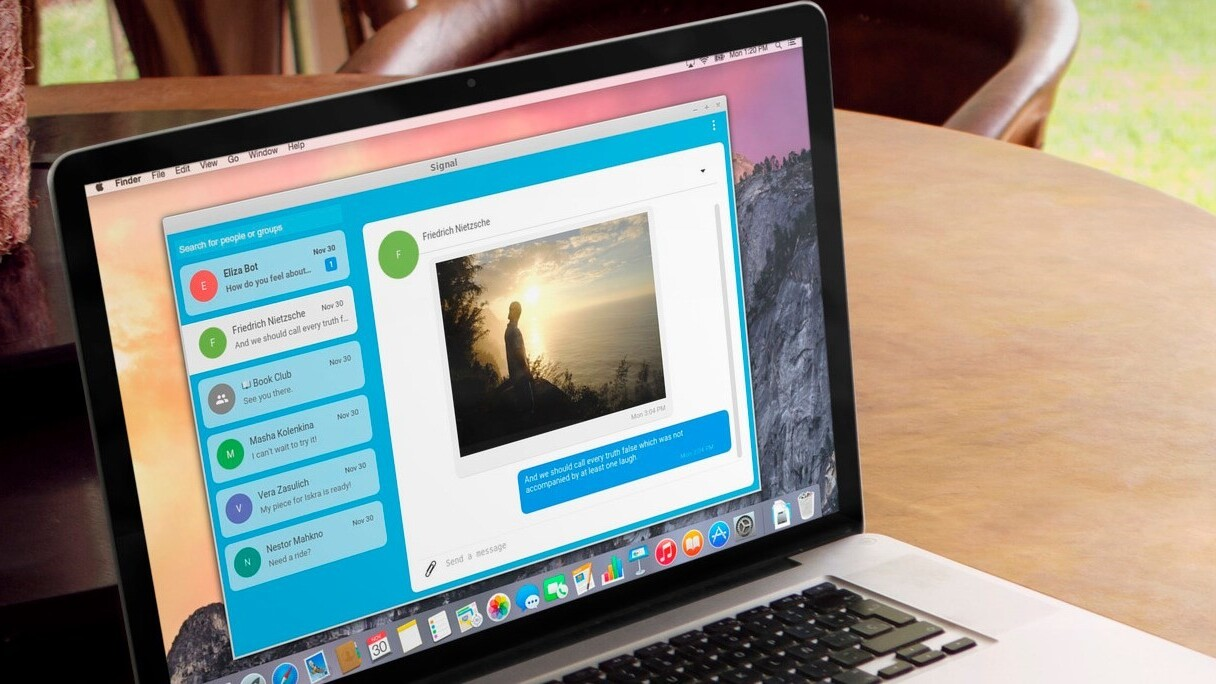 Snowden's preferred messaging app Signal comes to the desktop