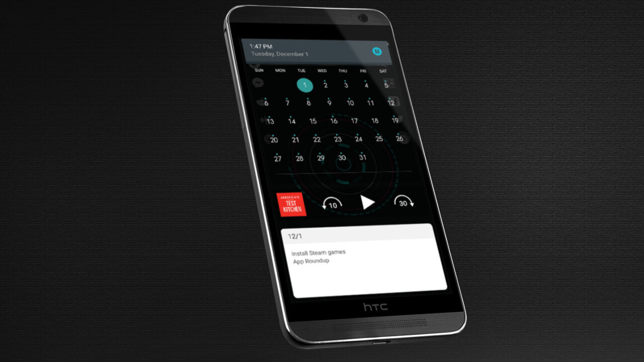 Snap for Android lets you access your widgets from any app