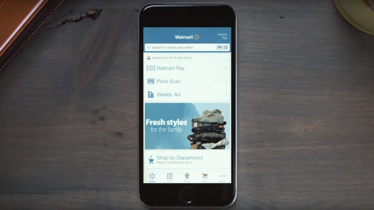 Walmart launches its own mobile payment service for iOS and Android