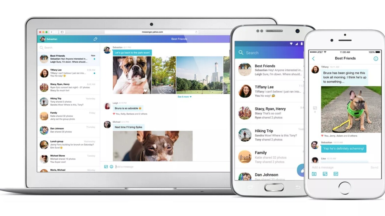 Yahoo Messenger returns from the almost-dead with huge overhaul