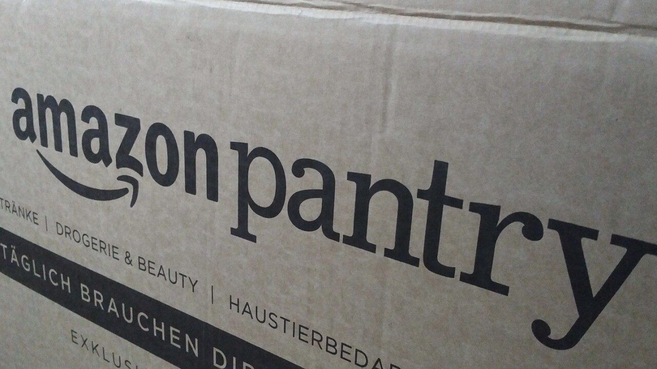 Amazon's Pantry delivery service won't be challenging UK supermarkets any time soon