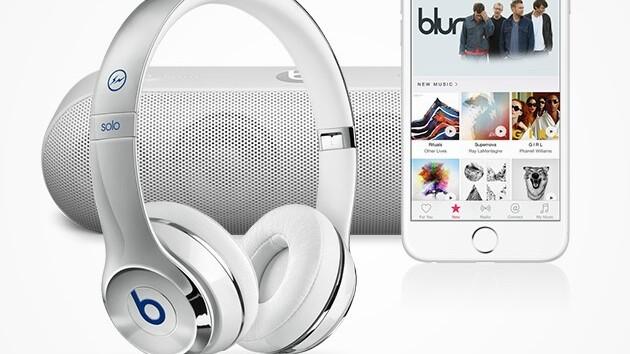 Win: Apple Music, Beats By Dre headphones and a Beats Pill+ Speaker