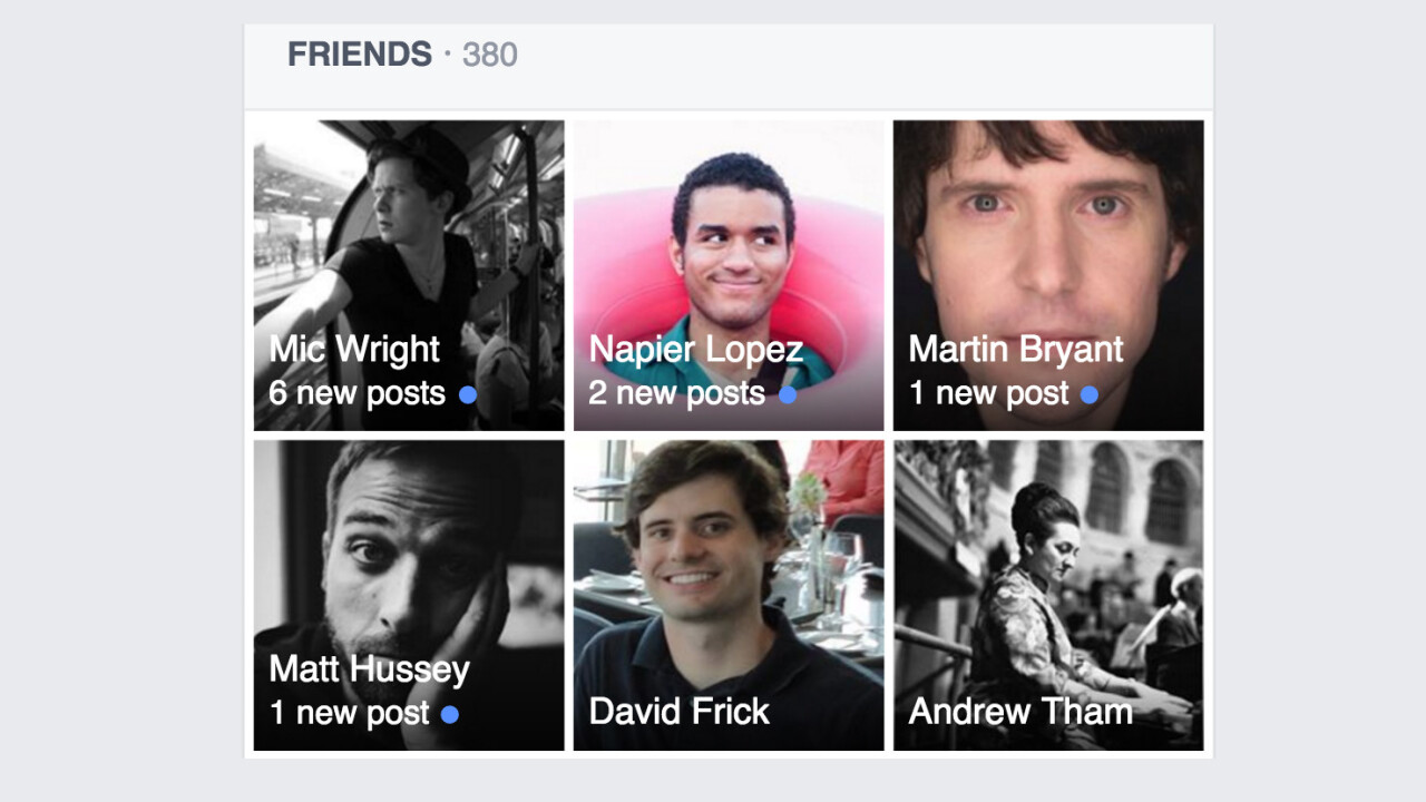 Facebook may soon alert you to friends with new posts, because who has time for news feeds