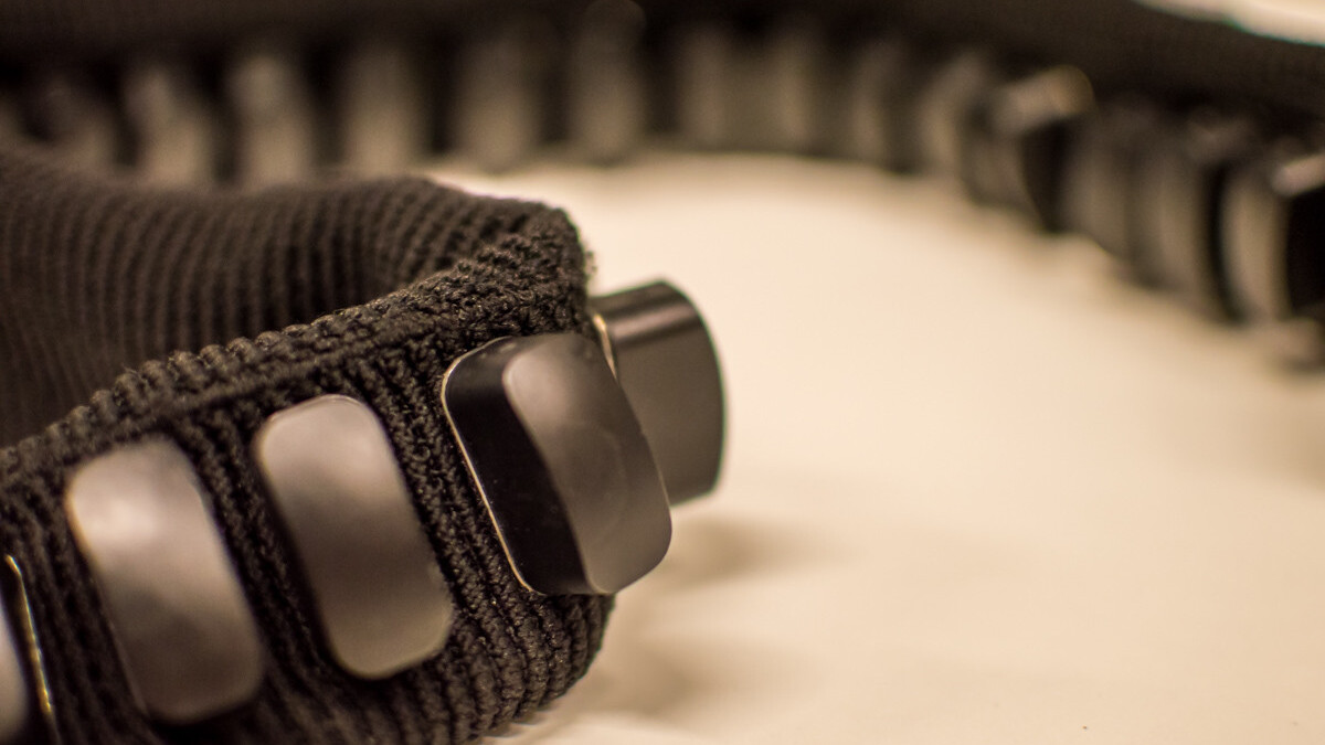 FeelSpace uses vibrating motors to help the blind feel the right direction