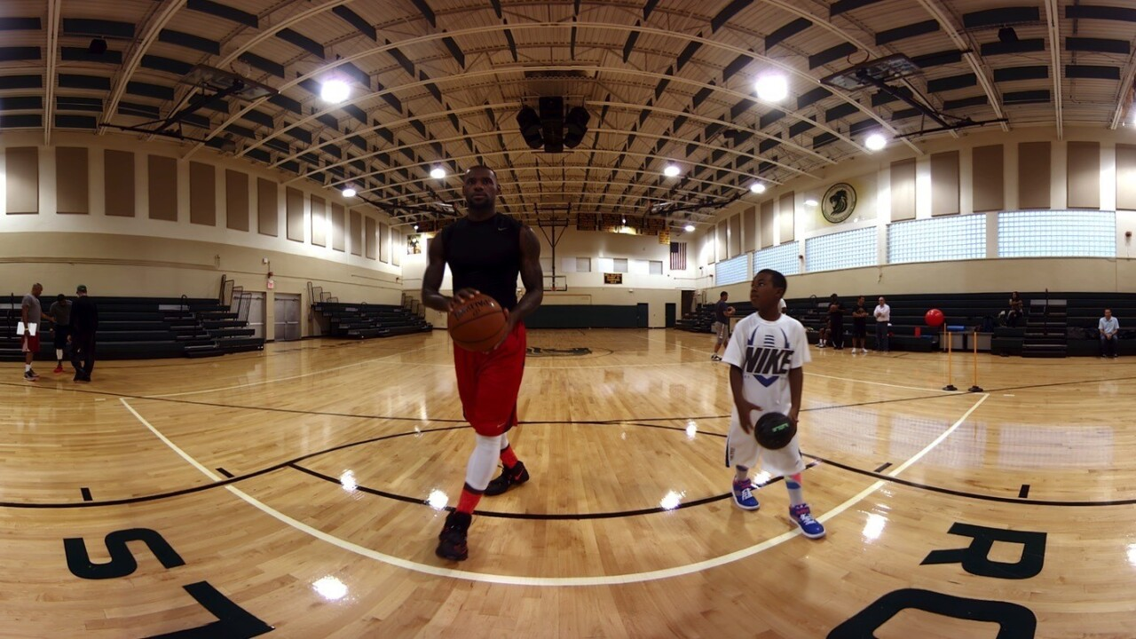 Lebron James and Oculus team up for new behind the scenes VR film