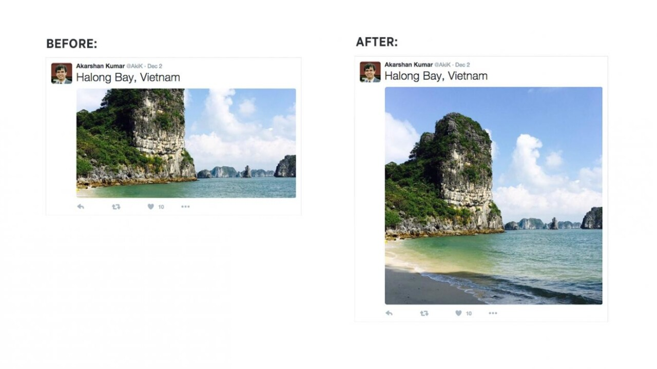 Twitter will no longer crop photos on your Timeline
