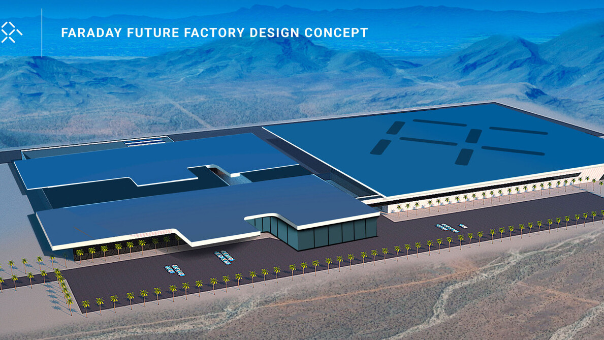 Tesla competitor Faraday Future is planning its own Nevada factory