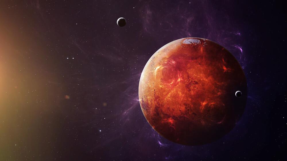 Congress gave NASA $55 million to build habitats for Mars by 2018