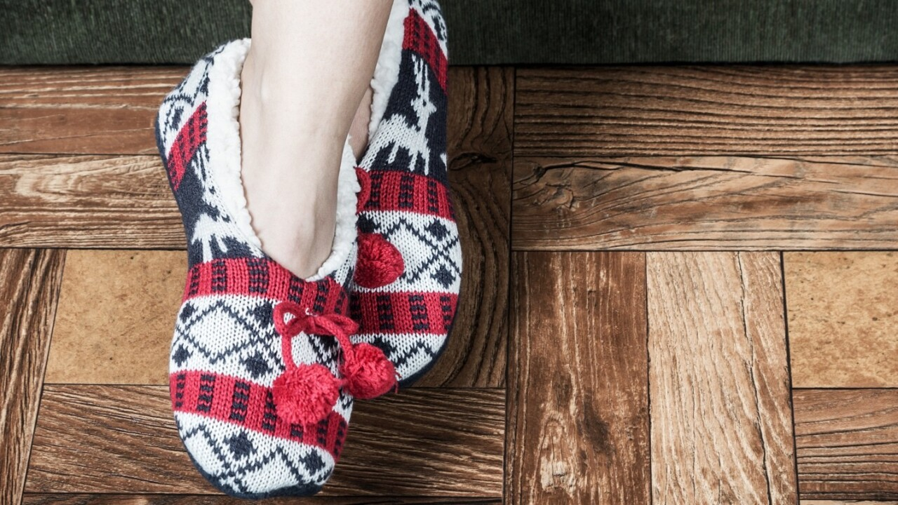 If someone makes 'Netflix for slippers,' Christmas is doomed