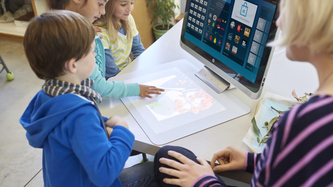 HP launched a Pro version of the weirdest desktop around
