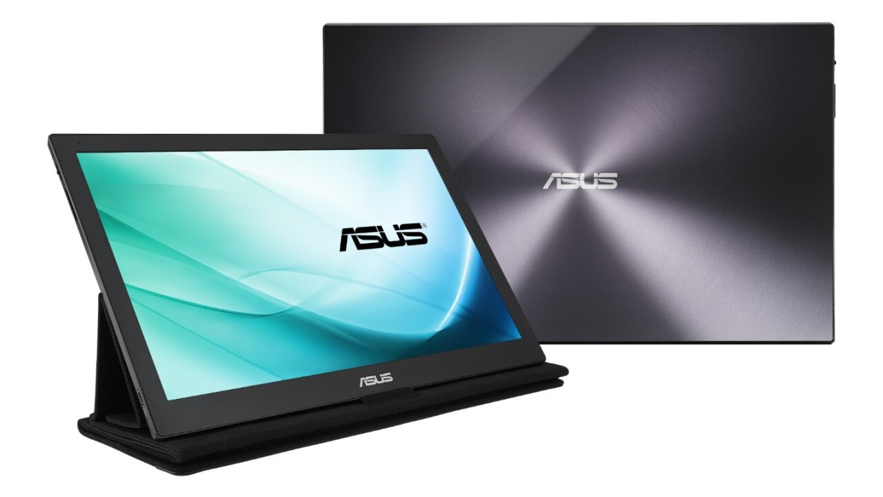 ASUS debuts the world's first monitor to run on just USB Type-C