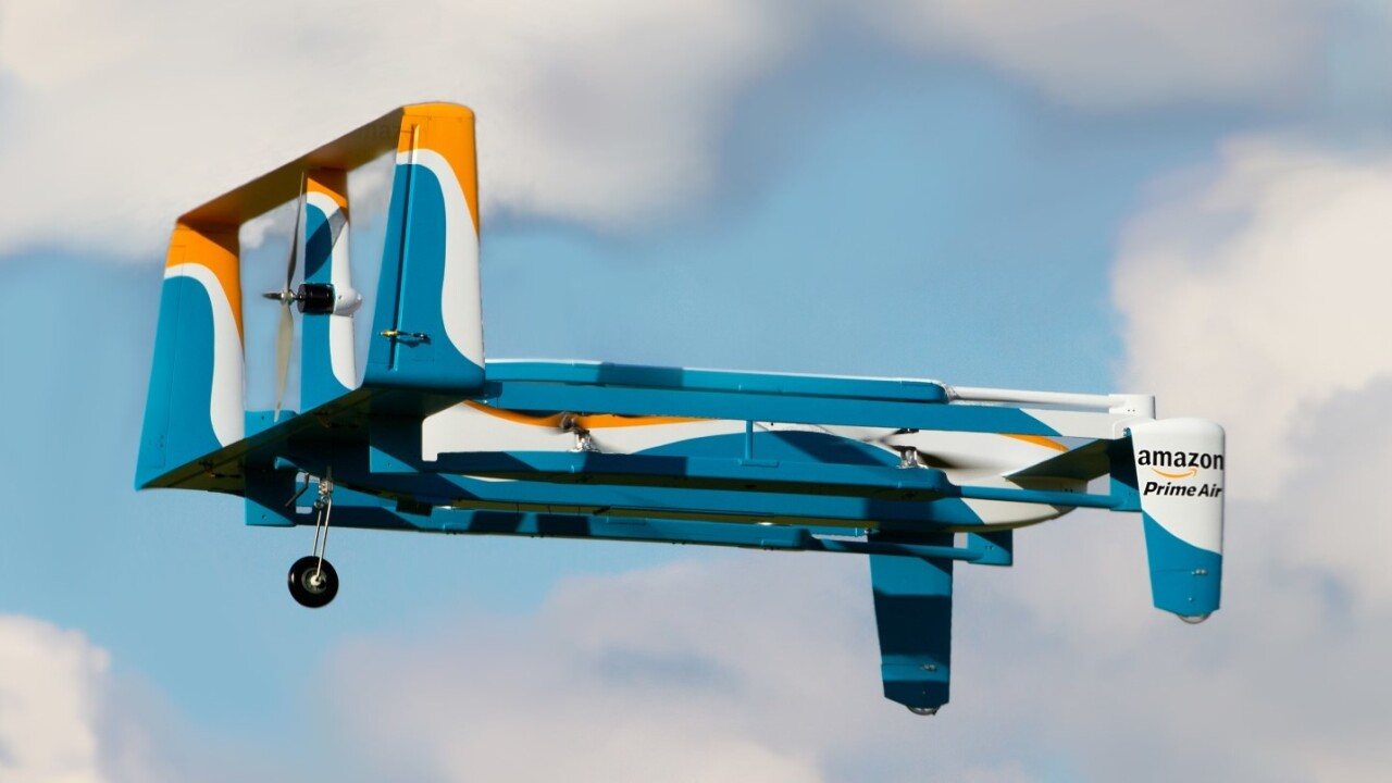Amazon is building a range of Prime Air delivery drones for various environments