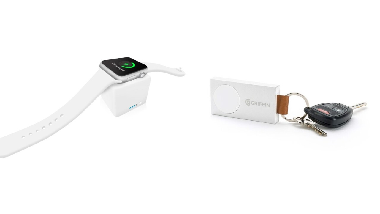 These two new Apple Watch battery packs can get you through your next vacation