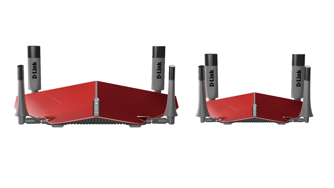 D-Link thinks your home needs both of these ugly routers (and it may be right)
