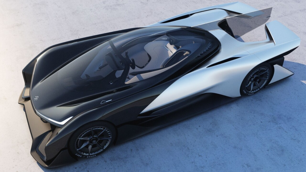Faraday Future debuts its stunning FFZero1 electric car concept at CES