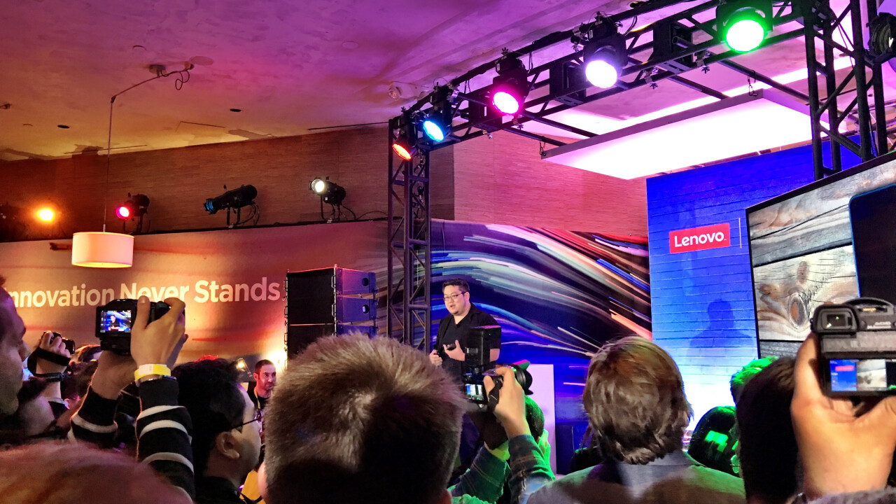 Google and Lenovo team up to announce first 'Project Tango'-enabled smartphone