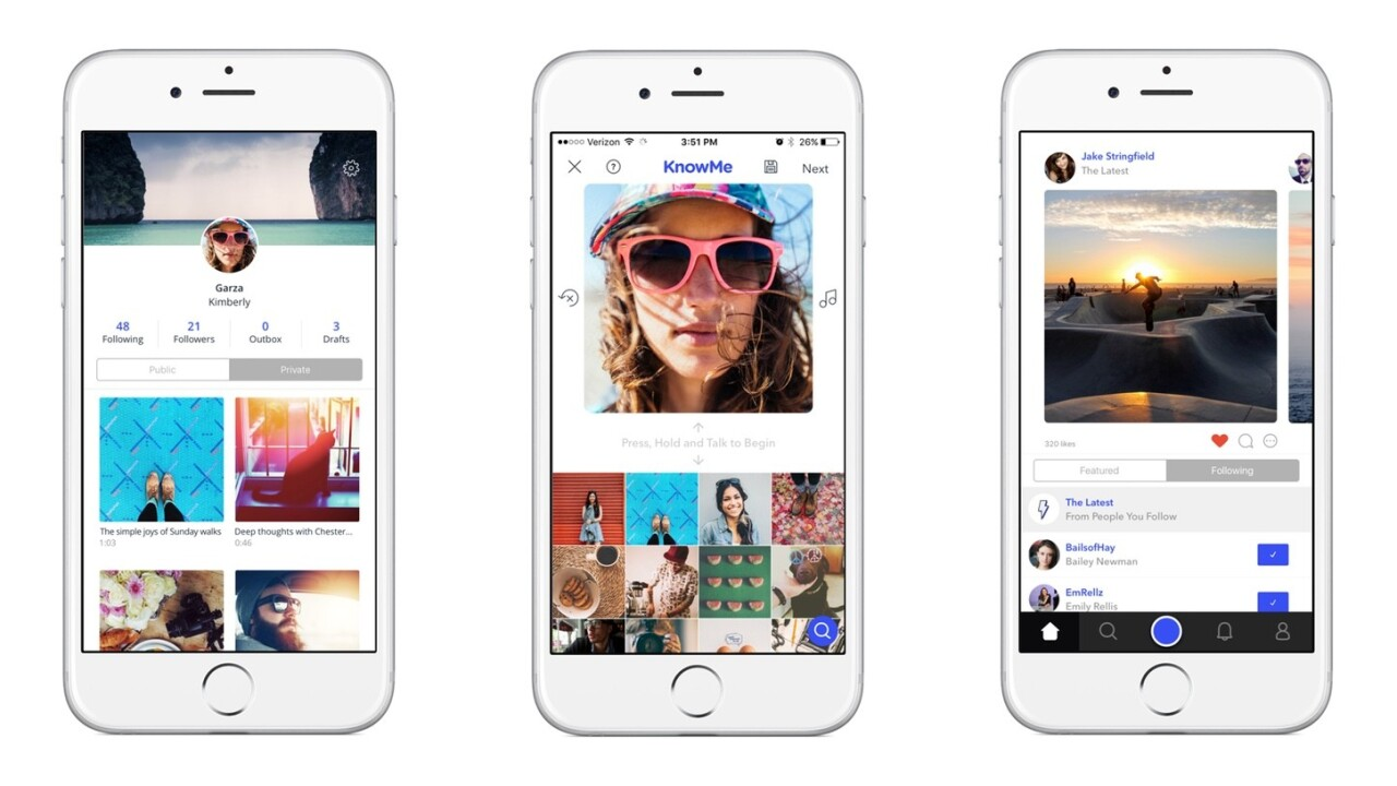 KnowMe for iOS lets you talk over pictures you have on your phone to tell a story