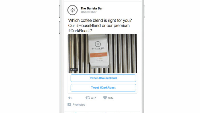 Brands on Twitter are now inviting you to tell them what you think of their ads
