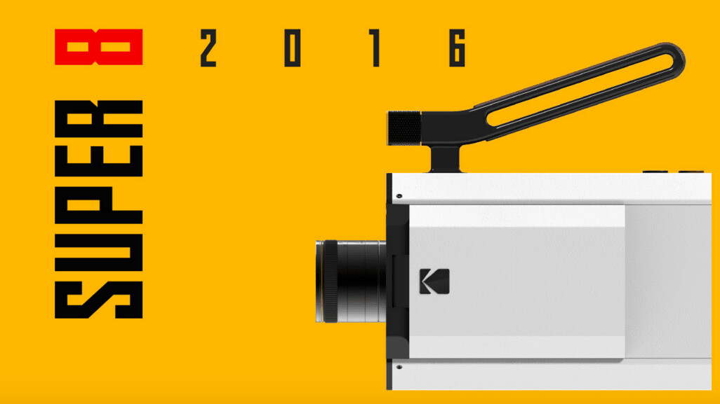 Kodak takes us back to the 60s with its revamped Super 8 camera