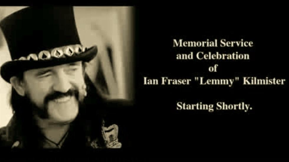 Motörhead frontman Lemmy's funeral was streamed live by 280,000 people on YouTube