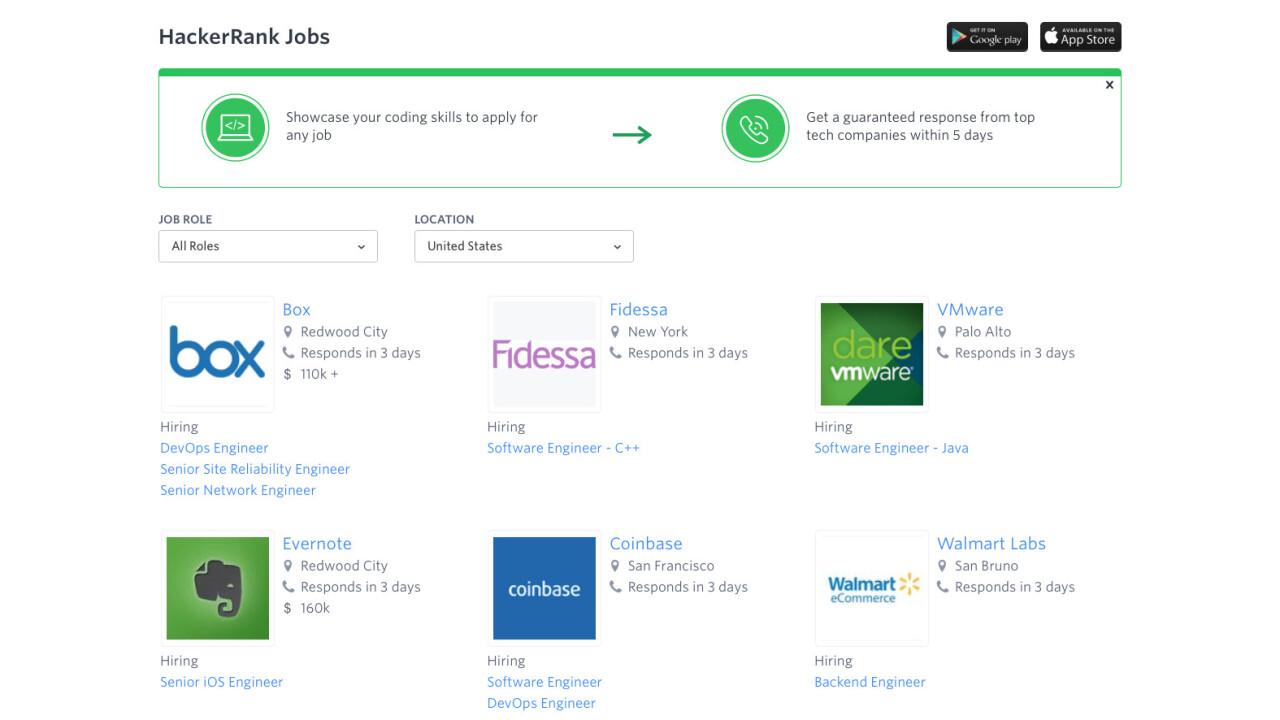 HackerRank Jobs is helping people land tech jobs based on skill, not pedigree
