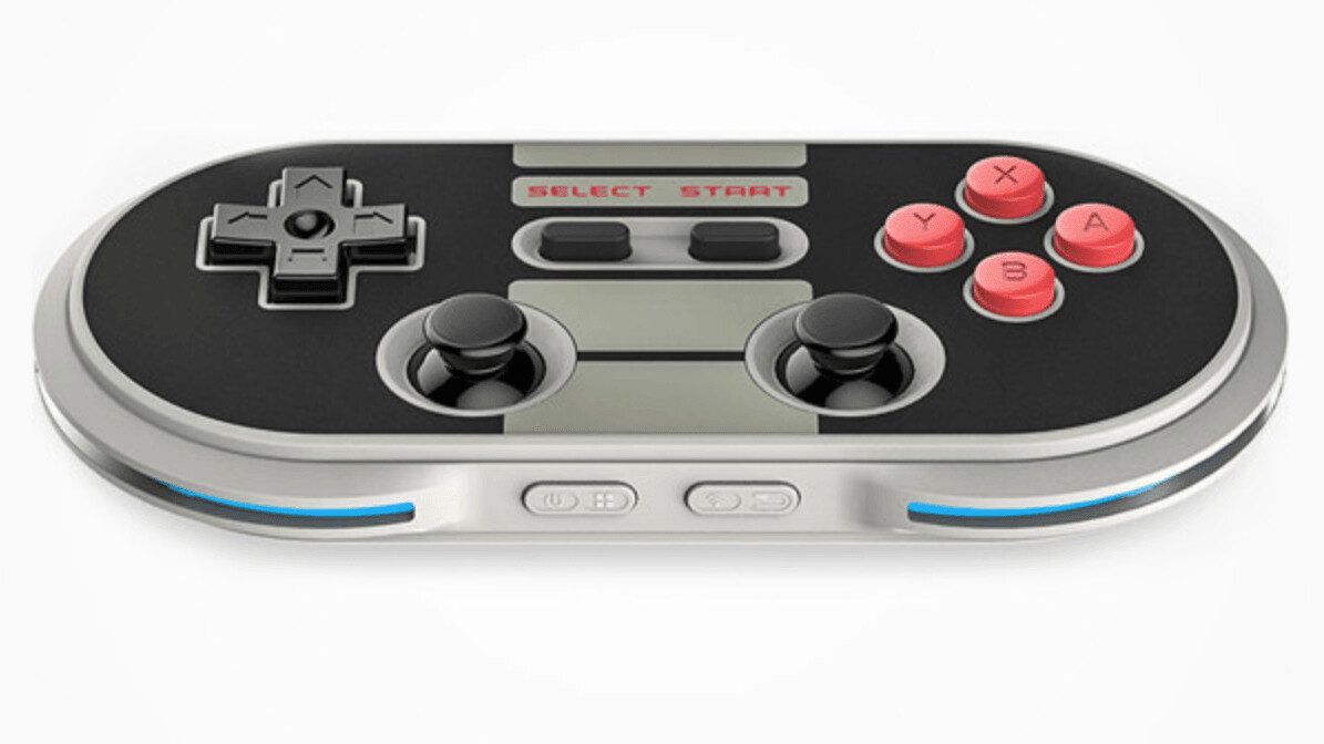 Get a retro feel in today's games with this NES-inspired controller