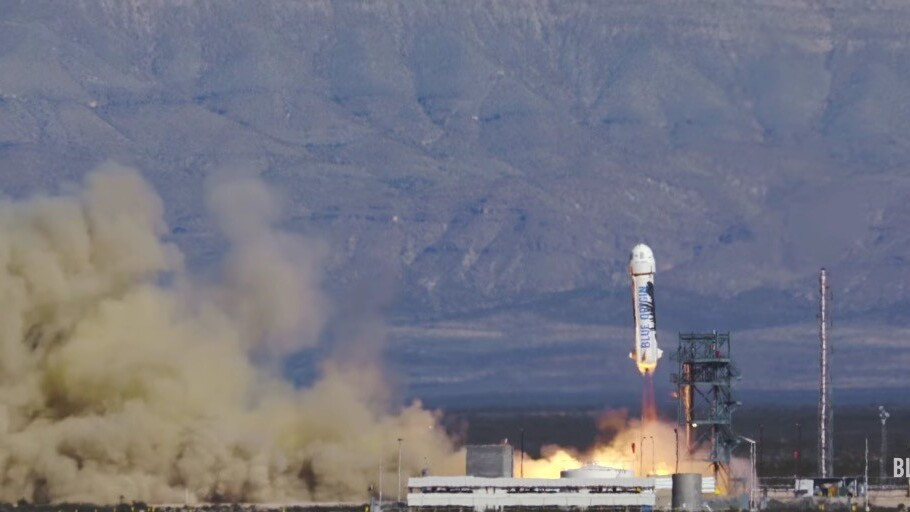 Jeff Bezos' Blue Origin successfully re-launched and landed its rocket before SpaceX