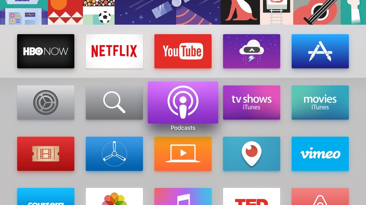 Apple TV officially has that podcasting app you probably didn't want