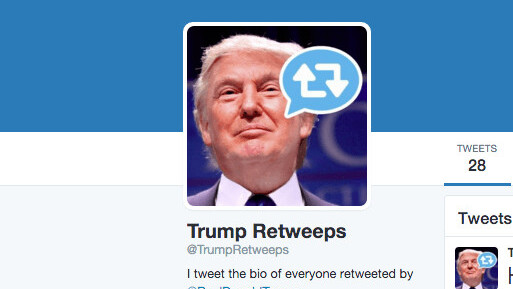 This Twitter bot is outing everyone Donald Trump retweets