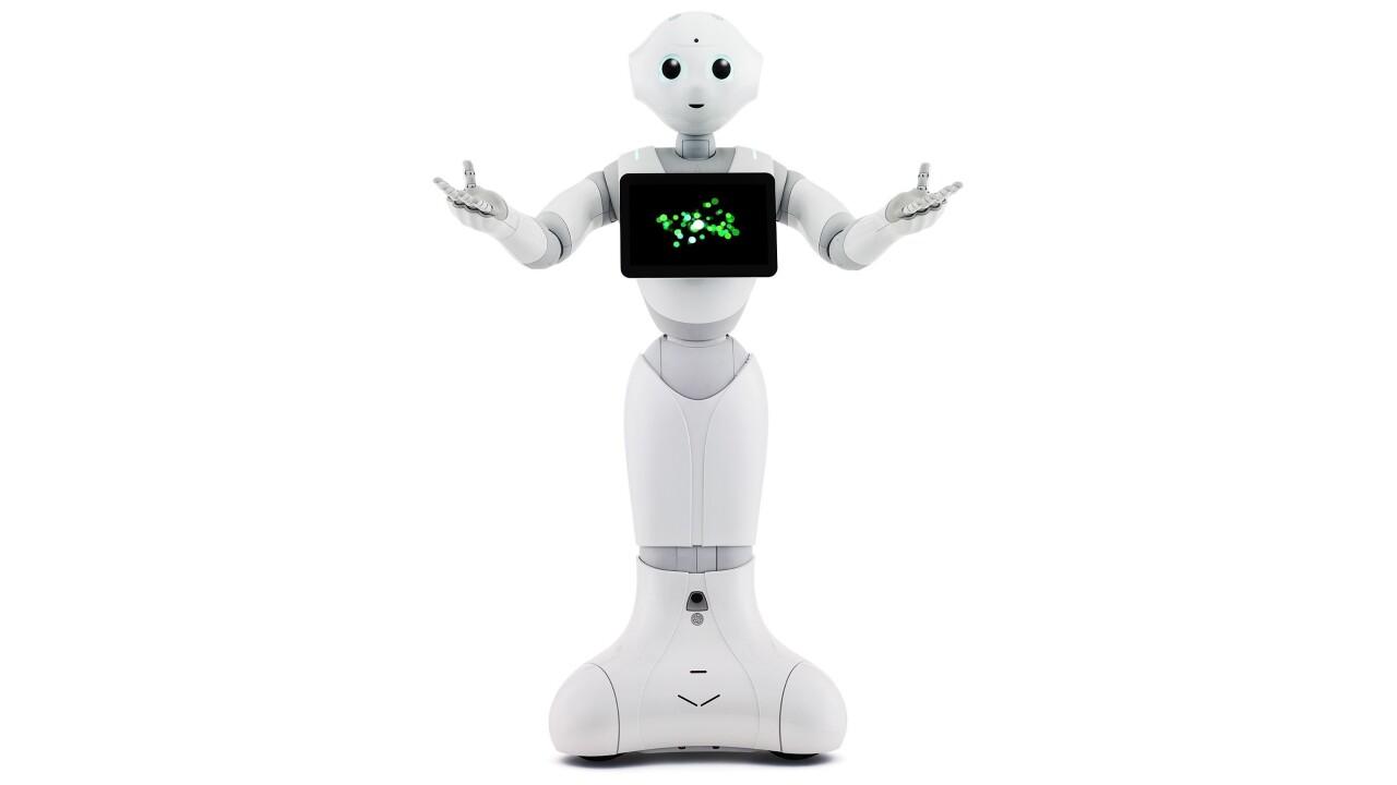 Softbank's Pepper robot will soon run a real phone store