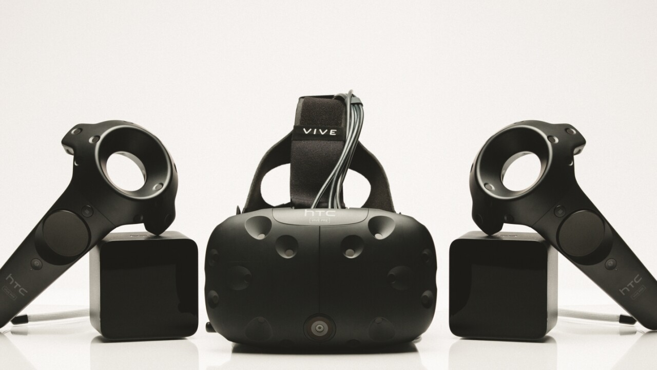 New app for the HTC Vive makes sure your family knows you're still alive