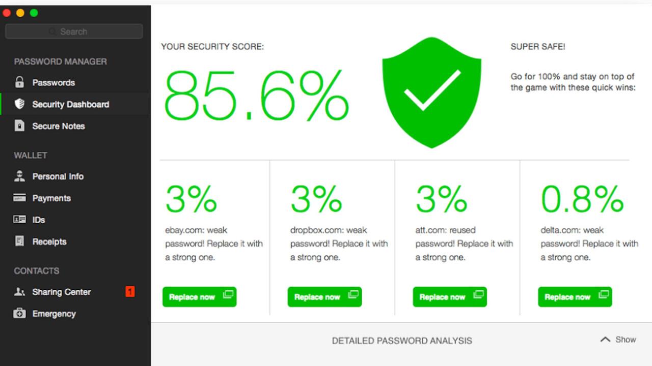 Dashlane's overhauled multi-platform password manager is now far easier on the eyes
