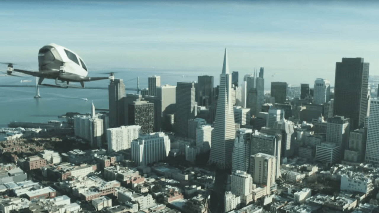 Flying around like The Jetsons probably isn't as close as this company wants you to believe