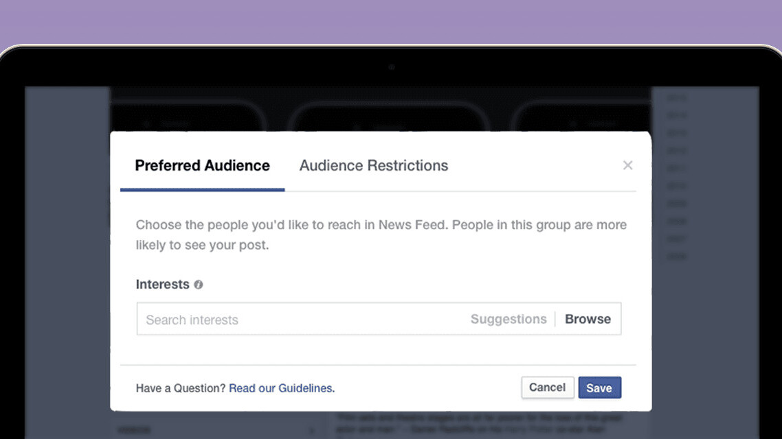 Facebook's new tools for publishers help target the news to your interests