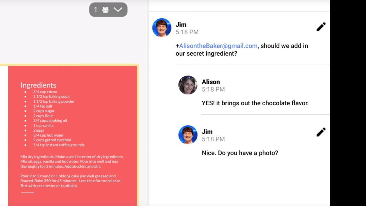 Google makes commenting smarter for Docs, Sheets and Slides on mobile
