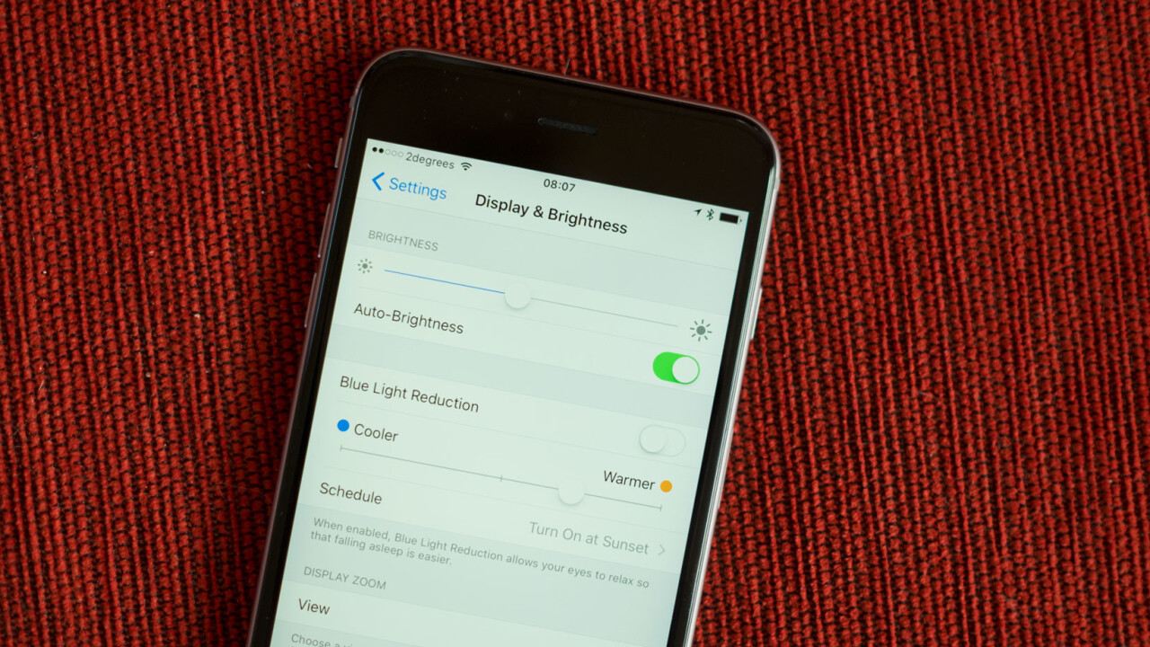 Your iPhone won't blind you at night anymore, here's how it works