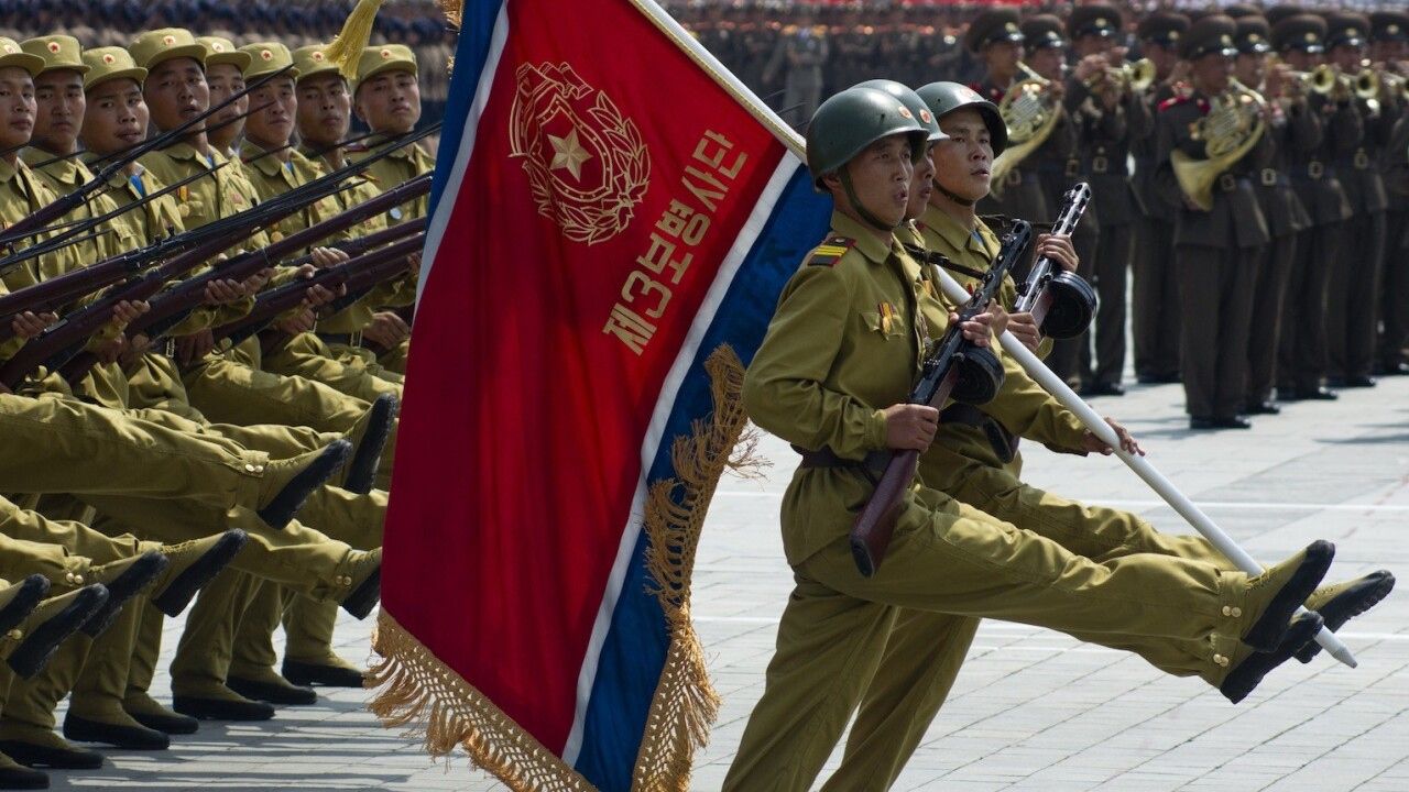There are just 7,000 Web users in North Korea