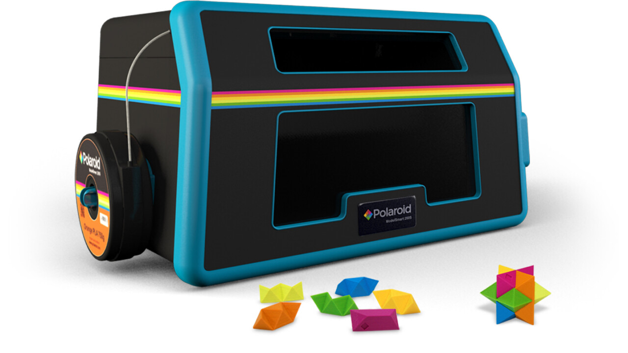 This is Polaroid's impressive new consumer-friendly 3D printer