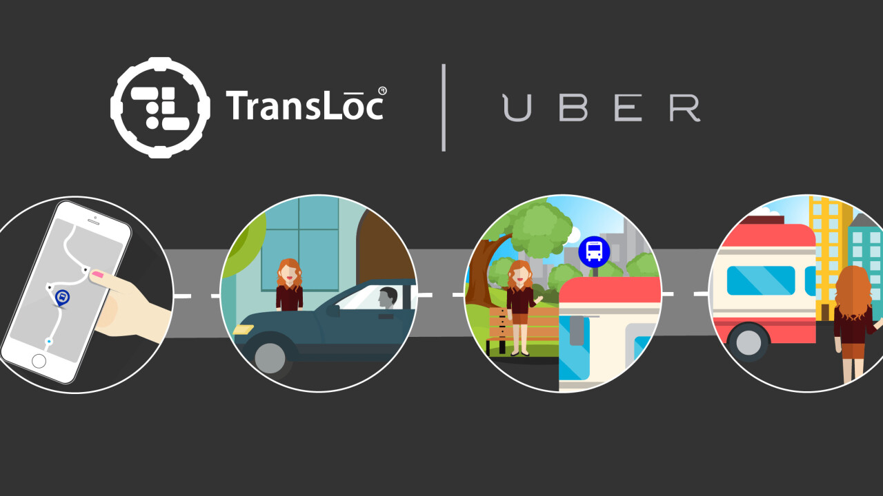 This Uber API integration could have you walking a lot less (and riding the bus more)