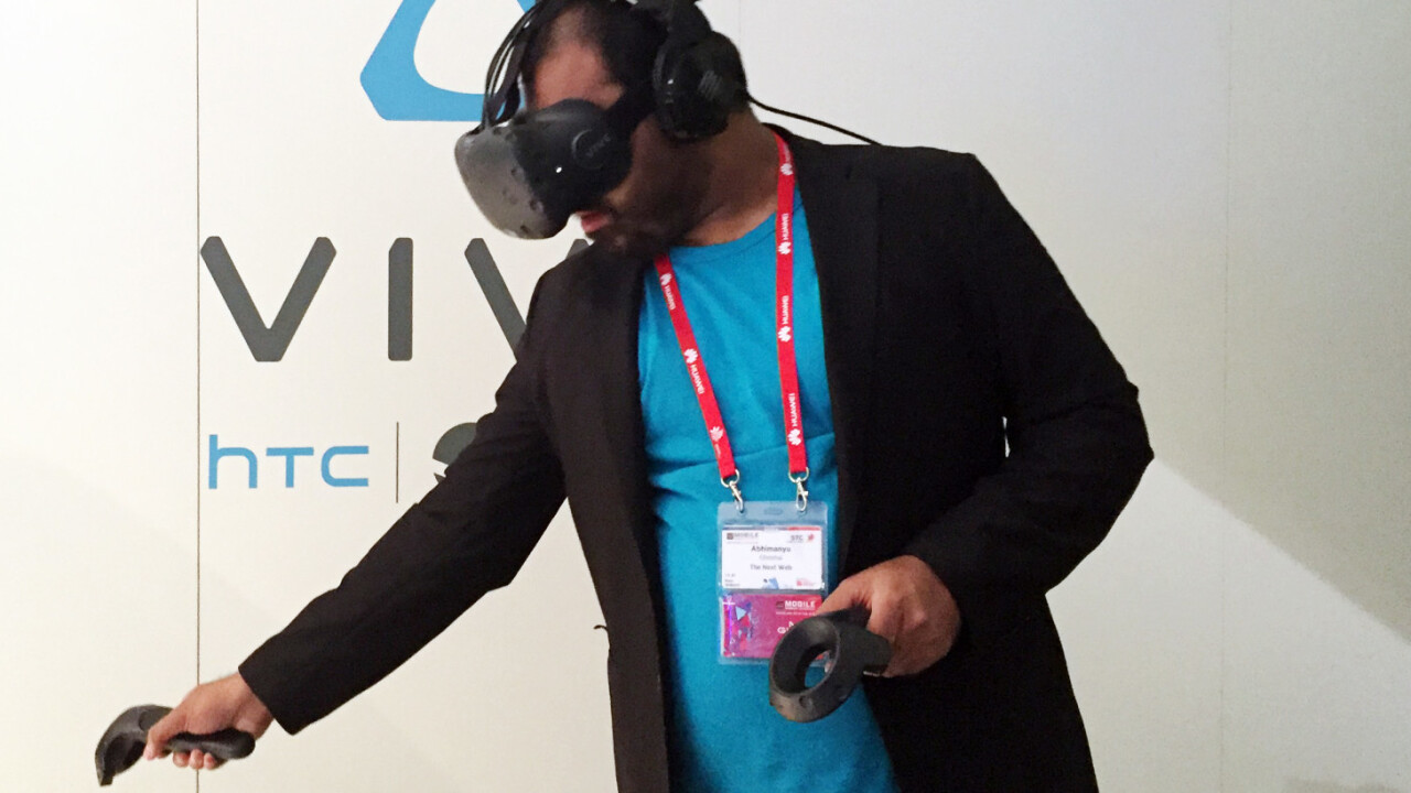 HTC Vive hands-on: This is the future of gaming