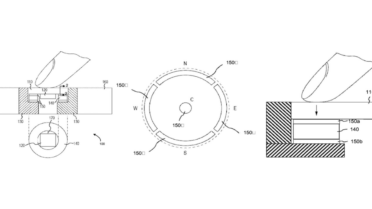 Apple patent shows how home button on future iPhones and iPads may be like a trackpad