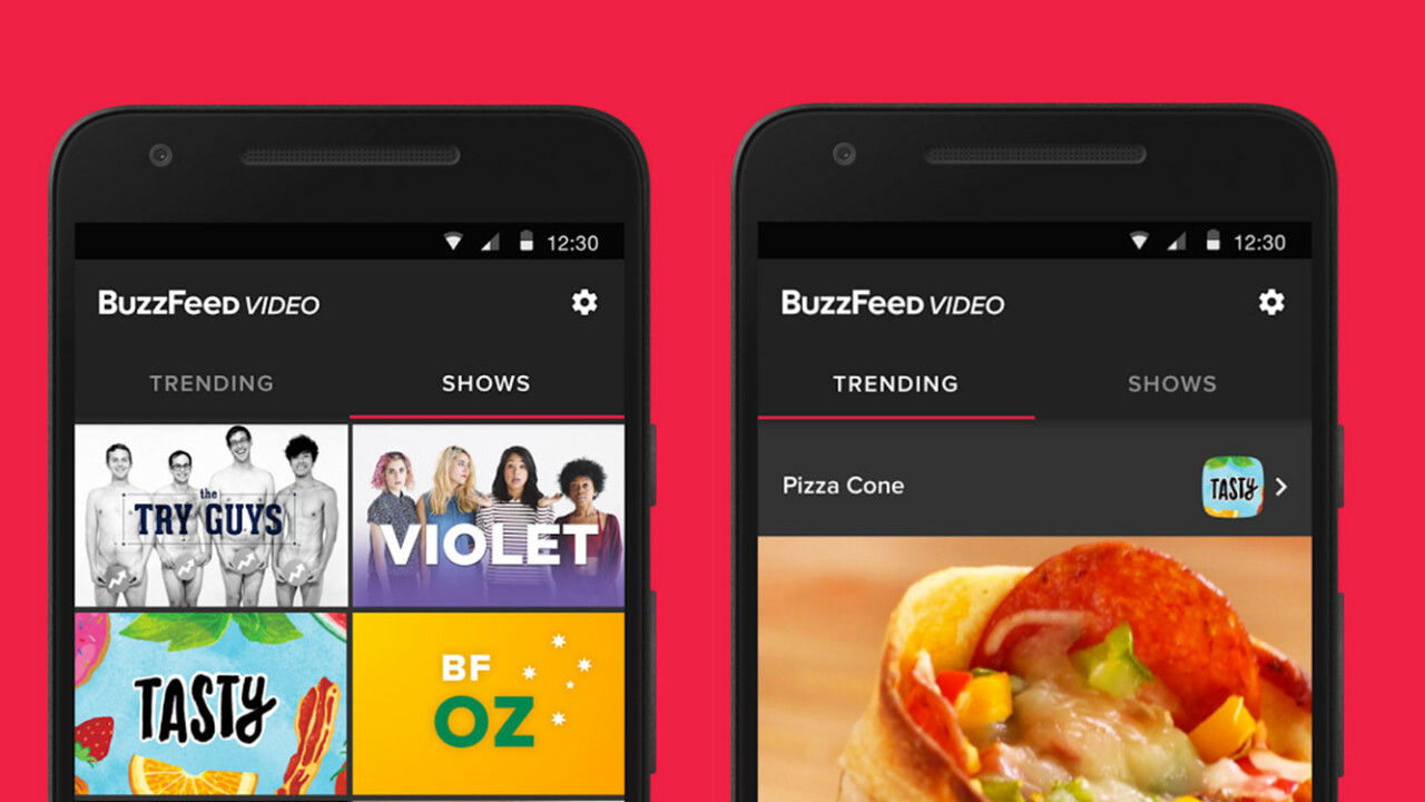 BuzzFeed's new video app helps you binge watch its shows